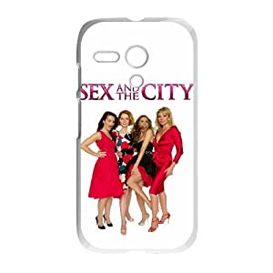 Sex and the City Motorola G Cell Phone Case White JN72C736