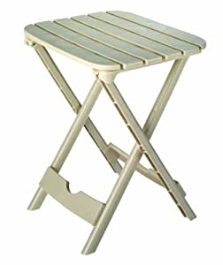 Adams Manufacturing 8520-23-3700 Quik-FoldTag-Along Side Table, Desert Clay Color: Desert Clay Outdoor, Home, Garden, Supply, Maintenance