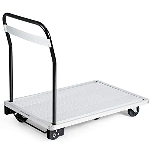 770 lbs Truck Folding Platform Aluminum Cart Hand Dolly Moving Push Warehouse Heavy Foldable Home Hardware Tools Dollies & Trucks Business & Industrial Material Handling & Wagon Commercial Household from Lek Store