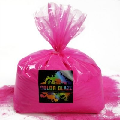 (Color Powder Pink 25lbs - Perfect For Fun Runs, Holi Festivals, Color Wars and More)
