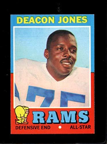 (1971 TOPPS #209 DEACON JONES EXMT LA RAMS HOF )