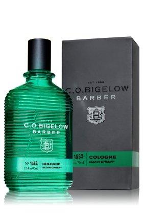 C.O. Bigelow Barber Cologne Elixir Green, 2.5 oz Spray