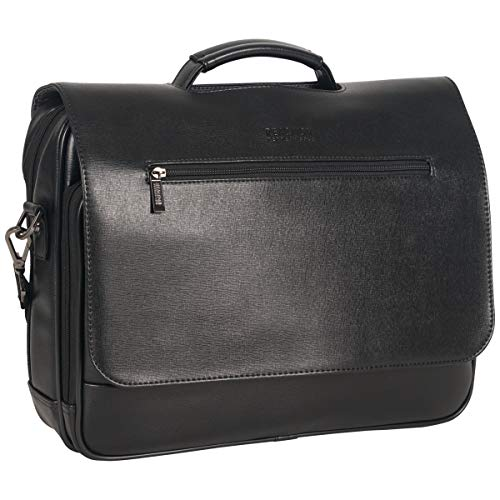 "Price comparison product image Kenneth Cole Reaction 15.6"" Flapover Laptop Case with RFID Bag,  Black One Size"