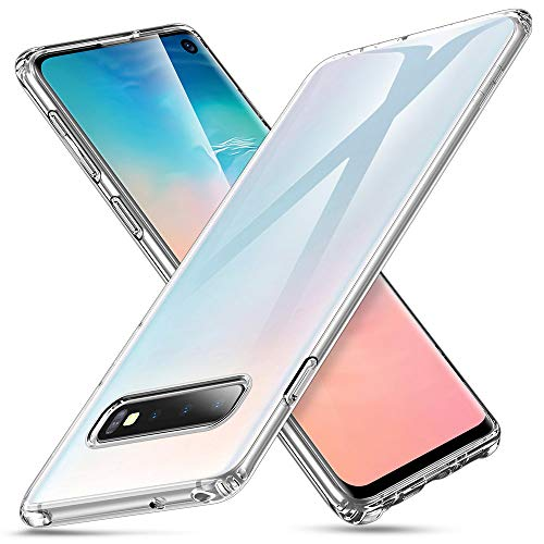 Jelly Cover - ESR Essential Zero Slim Clear Soft TPU Case Compatible with The Samsung Galaxy S10, Soft Flexible Silicone Cover - Jelly Clear