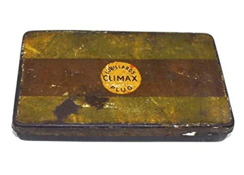 Antique Lorillard's Climax Plug Tobacco Tin Box