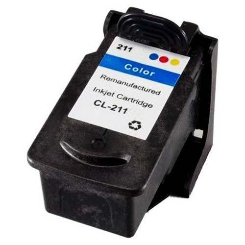 SuppliesOutlet Canon CL-211 Remanufactured Ink Cartridge - Multi-Color - [1 Pack] For Pixma iP2700, Pixma iP2702, Pixma MP230, Pixma MP240, Pixma MP250