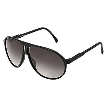 Gafas de sol, diseño de estilo Carrera, categoría 3, UV400 (incluye funda y gamuza), color negro mate