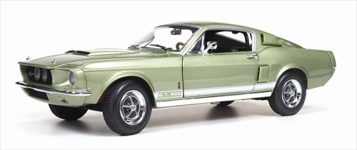 1967 Ford Shelby Mustang GT500 GT 500 Light Green 1/18 by Autoworld AMM993 ()