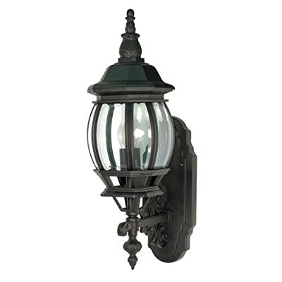 Nuvo 60/885 Wall Lantern with Clear Beveled Panels