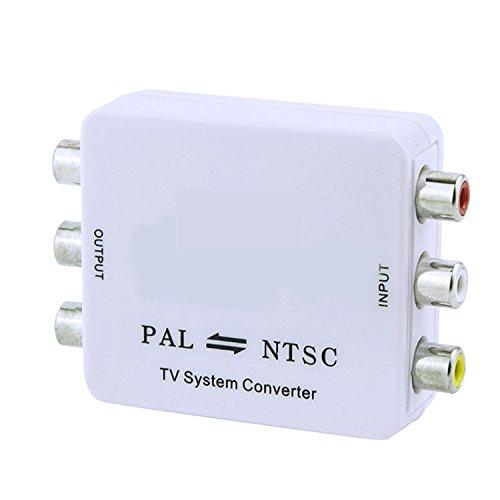 Enshey Video and Audio Video Converter Adapter PAL/NTSC/SECA