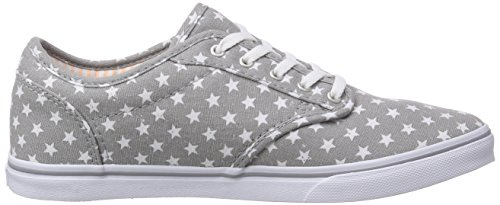 Faded Fr ATWOOD Flag Fes Vans Grau Sneakers Damen qxwI6OFY