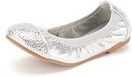 Girls Flexsole Summer Ballet Flats Comfortable Slip On Elastic Ballerina Shoes  Toddler Little Girl