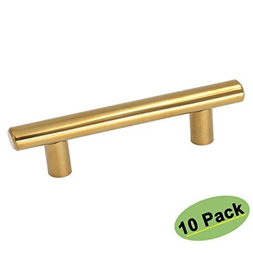 Polished Brass Finish Cabinet - 5