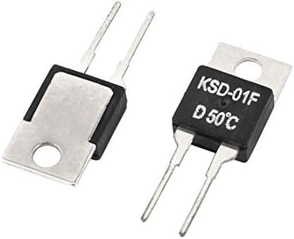 Sourcingmap – ® AC 250 V 1 A KSD-01 F 50 C NC control de ...