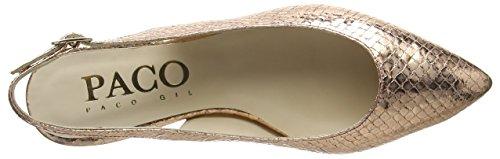 P2860 Nassau Paco Gold Women's Ballet Flats Gold Gil EE0q8