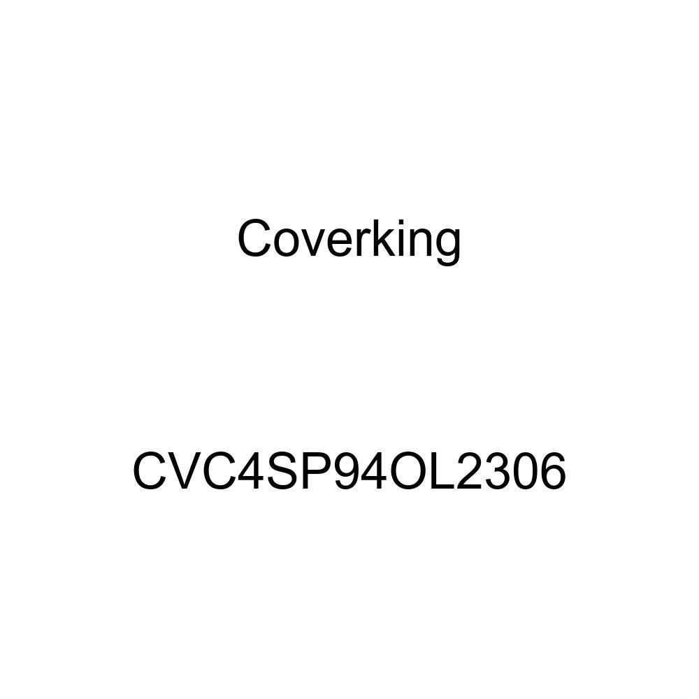 CVC4SP94OL2306 Coverking Custom Fit Car Cover for Select Oldsmobile Cutlass Supreme Models Stormproof Red