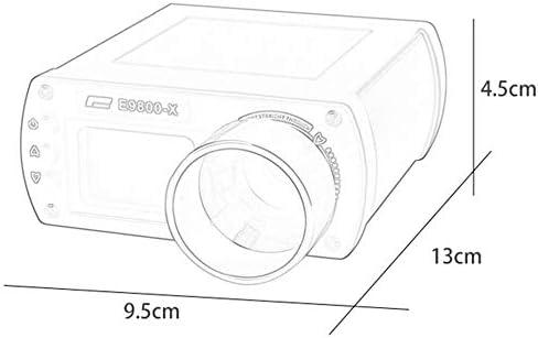 FOLWME X3300 E9800V Tac/ómetro multifunci/ón T/áctico Airsoft Alcance de Velocidad Probador de Disparos Cron/ógrafo Instrumento de medici/ón-Azul Marino-1 Tama/ño