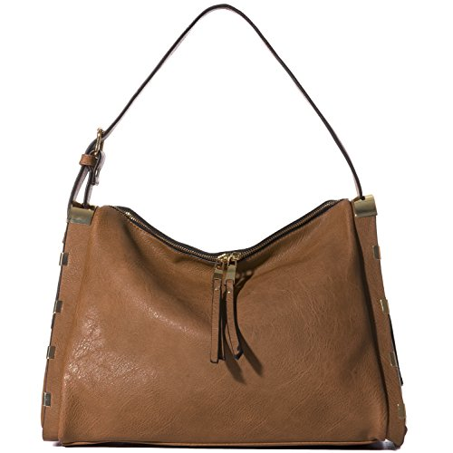 Handbag Republic Vegan Leather Hobo Handbags Top handle Shoulder Bags Fashion Purses For Women and Ladies