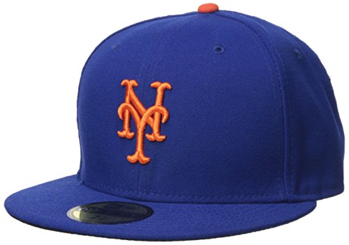 MLB New York Mets Game AC On Field 59Fifty Fitted Cap-700 (Mets New Ny Logo)