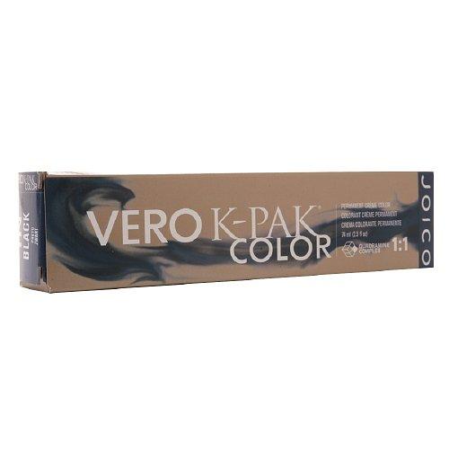 Joico Vero K-Pak Color Permanent Crème Color, Black 1N 2.5 fl oz (74 ml) Joico Vero Creme