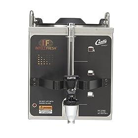 Wilbur Curtis Gemini 1.5 Gallon Satellite Dispenser With Intellifresh – Commercial Beverage Dispenser that Preserves Flavor and Prevents Heat Loss – GEM3IF (Each)