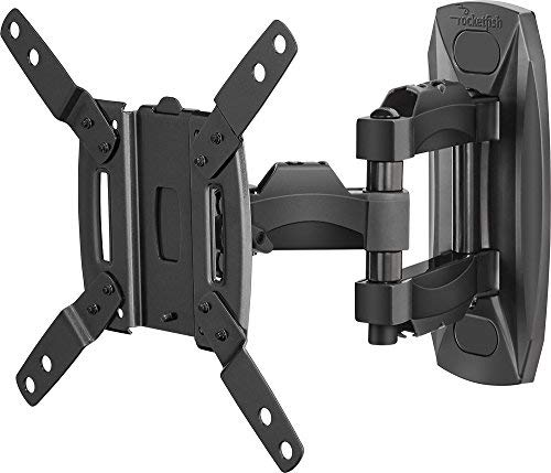 "Rocketfish - Full-motion Tv Wall Mount For Most 19""-39"" Lcd Tvs - Black (RF-HTVMMAB SKU:5171301)"