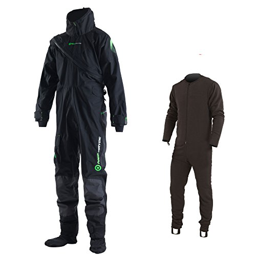 (Neil Pryde ELITE 3D Curve Drysuit & Pee Zip 2018 - Free Thermal Fleece M)