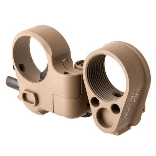 Law Tactical AR Folding Stock Adapter Gen 3-M Flat Dark Earth