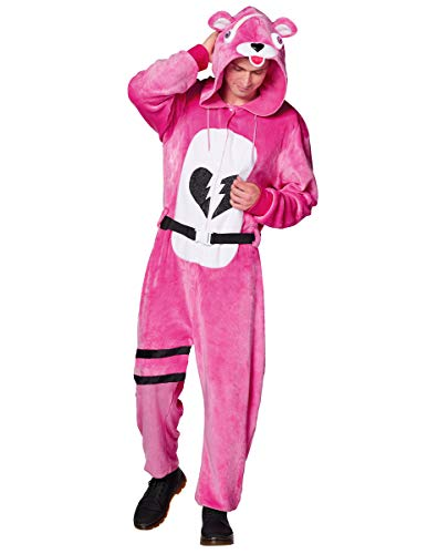 Spirit Halloween Adult Fortnite Plush Cuddle Team Leader Costume - L/XL