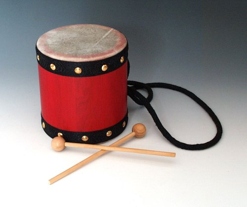 Music Treasures Co. Small Tom Tom W/ Mallets by Music Treasures Co.