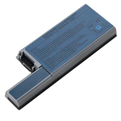 TAUPO Laptop Battery for Dell Latitude D830 D820 D531 D531N, Precision M4300 M65, fits P/N CF623 DF192 FF232 MM165 - 12 Months Warranty