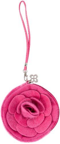 Original Steindl München-Salzburg Trachten Tasche für Dirndlschürze pink DTSCH04PNK Dirndltasche, Trachtenmode für Damen (erhältlich auch in den Farben: türkis, rot, apfelgrün, schwarz)