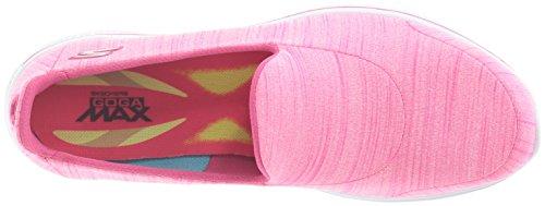 Skechers Performance Womens Go Walk 4 Soddisfare Le Scarpe Da Passeggio Rosa Caldo