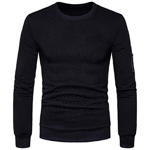 Nero Scozzesi Felpa Autunno Coat Da Abcone Jacket Cappuccio Quadri Inverno Cappotto Del Outwear Uomo Tops A Casuale Con Inverno qFvUWwH