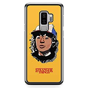 Loud Universe Dustin Face Samsung S9 Plus Case Stranger things Dustin Art Samsung S9 Plus Cover with Transparent Edges
