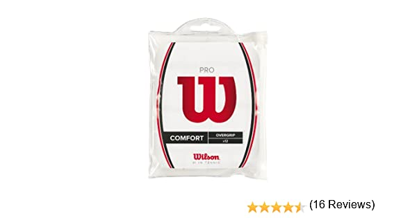 Wilson Pro Overgrip - Mango de Raqueta, Color Blanco: Amazon.es ...