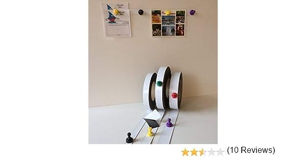 Cinta magn/ética adhesiva 25 x 0,6/mm Smagtron Ferroband color blanco brillante
