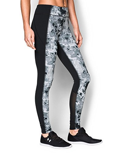 Under Armour Women's Shape Shifter Printed Leggings Black/Silver XS (US 0-2) X 27.5