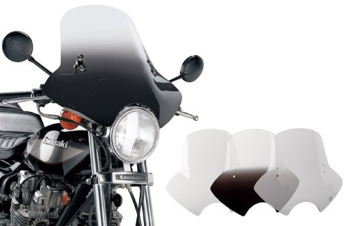 Memphis Shades Demon Windshield with Handlebar Mounting Kit (Gradient Black)