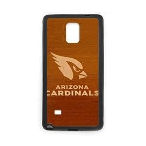 Arizona Cardinals Team Logo Samsung Galaxy Note 4 Cell Phone Case Black DIY gift zhm004_8710109