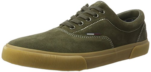 Tommy Hilfiger Herren V2385ibe 4b Sneaker Grün (Olive Night Fm0Fm00790/010)