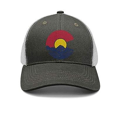 Rocky Mountain Colorado C Adjustable Baseball Cap Snapback Unisex Dad hat