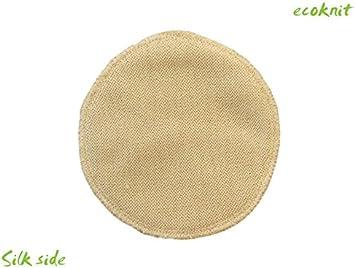 MERINO WOOL SILK nursing feeding organic washable reusable ENGEL Breast Pads 4