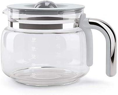 Smeg DCGC01 - Jarra de café de cristal para cafetera de goteo DCF02: Amazon.es: Hogar
