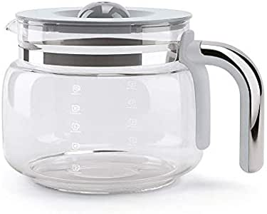 Smeg DCGC01 - Jarra de café de cristal para cafetera de goteo ...