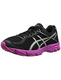Asics Girl's Gt-1000 4 Gs Pr Ankle-High Synthetic Tennis Shoe