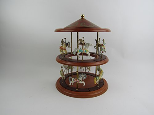 (Lenox Princeton Gallery Gems of the Month Carousel Display)
