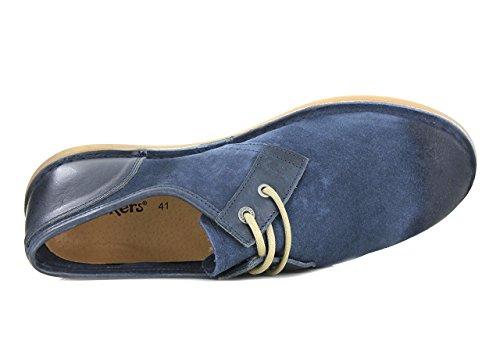 Kickers - Zapatos de Cordones Hombre Bleu Foncé