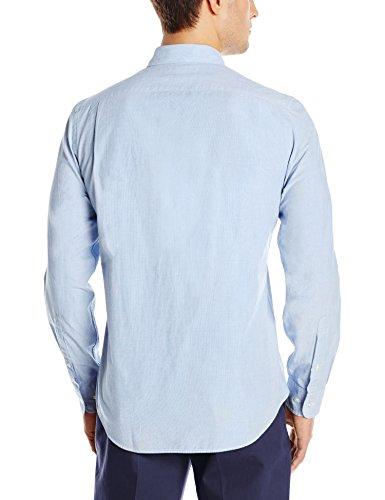 Goodthreads men 39 s slim fit long sleeve end on end shirt for Mens medium long sleeve shirts