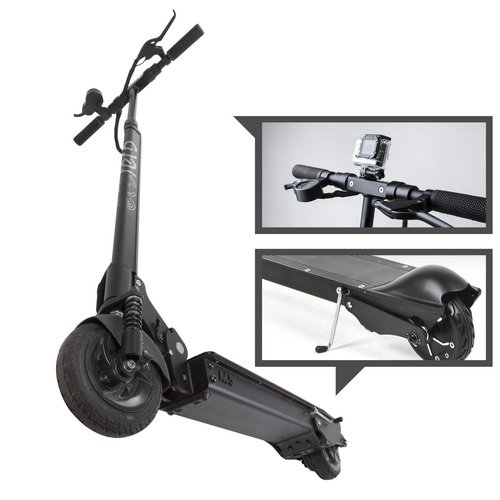 EcoReco - M5 Electric Scooter Black (Renewed)
